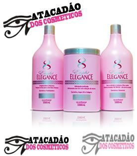 Kit Escova Redutora de Volume - Eight Elegance