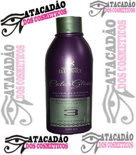 Matizador 3 Minutos - Color Gloss  Platinum Matizador
